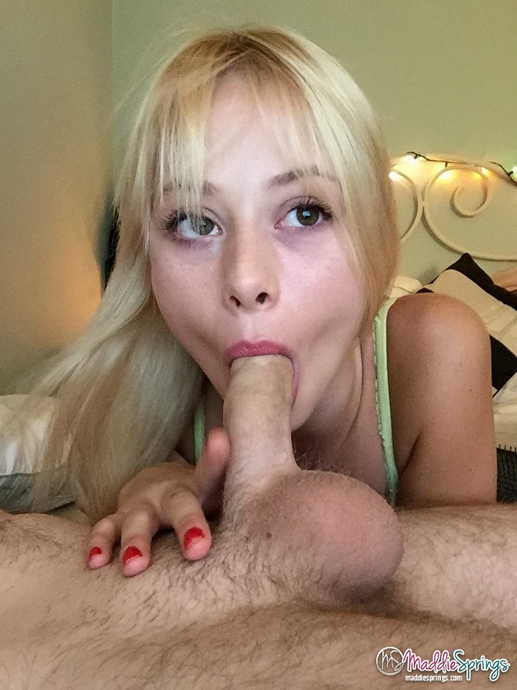 madie springs sucking cock